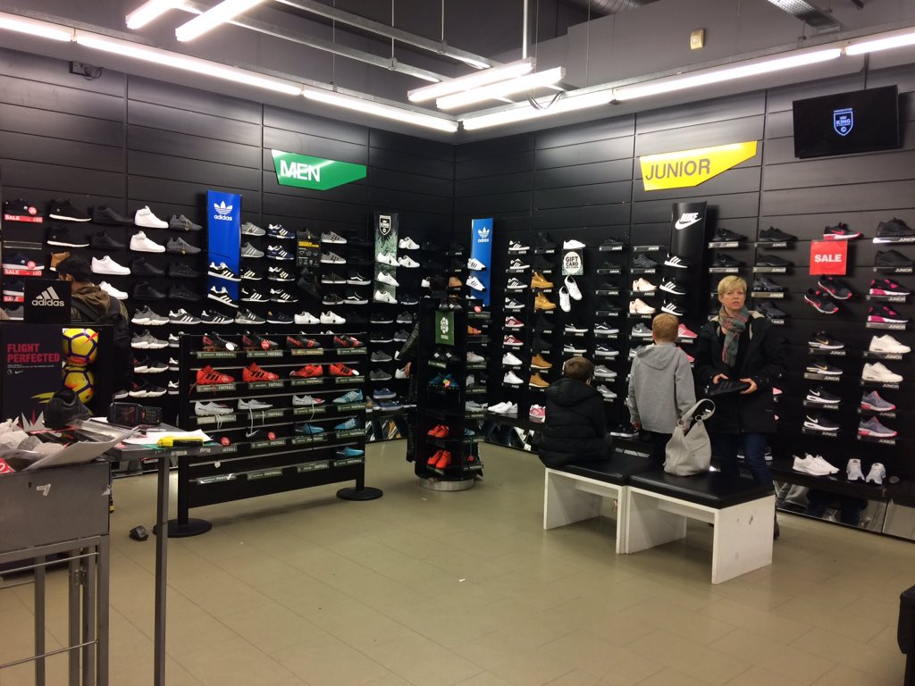 05186dc22be In a massive @JDSports store with rows and rows of men's and kids trainers,  all we women get is a weeny stand with limited options.