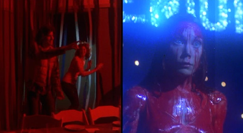 Image result for carrie split screen image