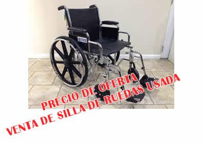 silla de ruedas usada precio