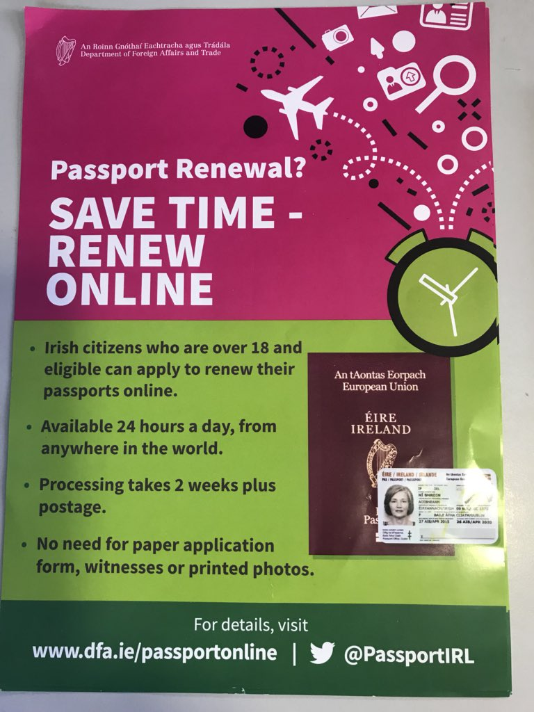 Mairead mcguinness on twitter sound advise from passportirl sound advise from passportirl excellent online service for passport renewal january is a good time to check all the family passportspicitter falaconquin