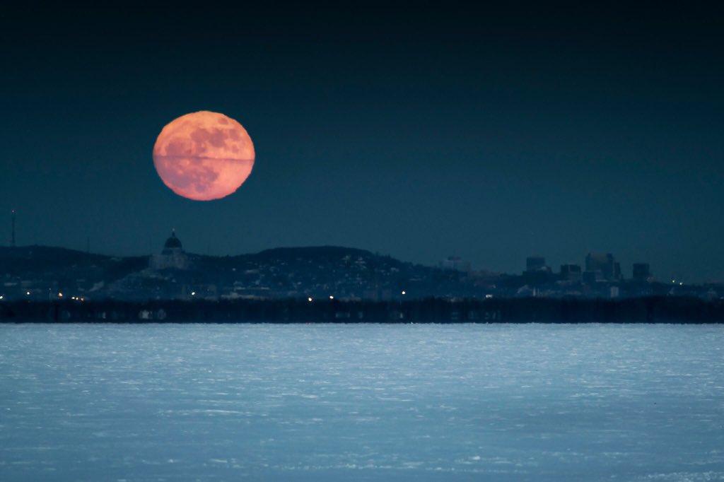 Фотография луны в тайланде