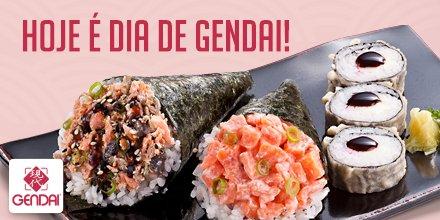 SEXXXXTA é dia de almoço especial, né? Que tal dar uma passadinha no Gendai? https://t.co/uwqTmFJWdR  #Gendai #JapadoDia https://t.co/UA4nASUGah