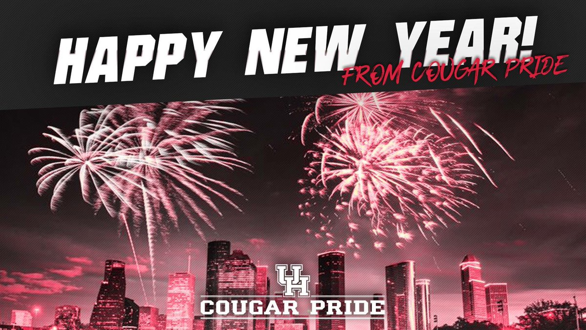 Lovely HAPPY NEW YEAR!! Cougar Pride Wishes You A Prosperous 2018! Wishing Every  Day Of The New Year To Be Filled With Success, Happiness And Good Fortune!