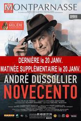 [THÉÂTRE] Un début d'année au théâtre avec André Dussolier dans Novecento !  https://t.co/YQEiAJweVS #Theatre