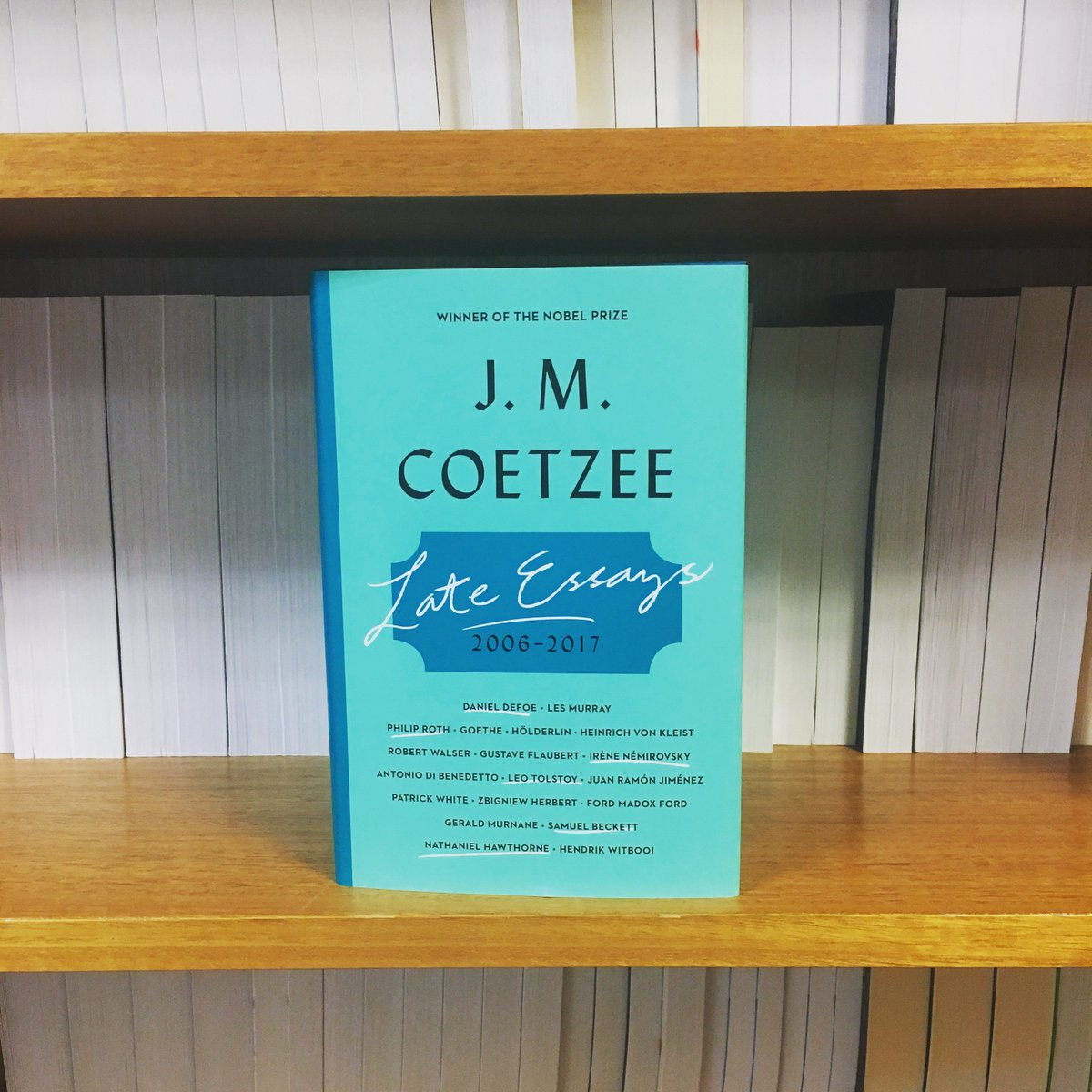 Viking On Twitter The Reflective And Erudite Kirkusreviews  Viking On Twitter The Reflective And Erudite Kirkusreviews Late  Essays By Nobel Prizewinning Author J M Coetzee Is Now Available  Population Essay In English also Business Plan Writers Denver Co  Science Topics For Essays