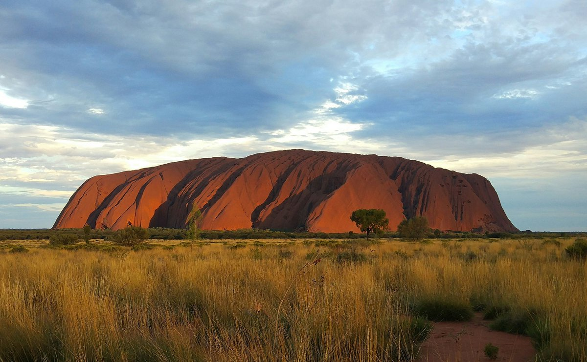The Australian pilgrimage. Uluru is a complex site but genuinely extraordinary. #dontclimb #nofilter