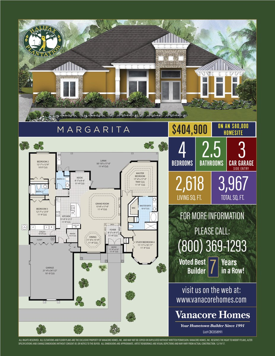 Vanacore Homes on Twitter Check out our Margarita floor plan his – Vanacore Homes Floor Plans