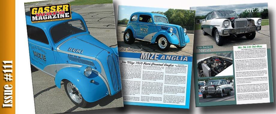 Thanks to #gasserwarsmagazine for cover and article. #meltdowndrags #anglia #vintage #southeastgassers #oldskoolracing #ihra #nhra #Hemi<br>http://pic.twitter.com/S09EaduxIt