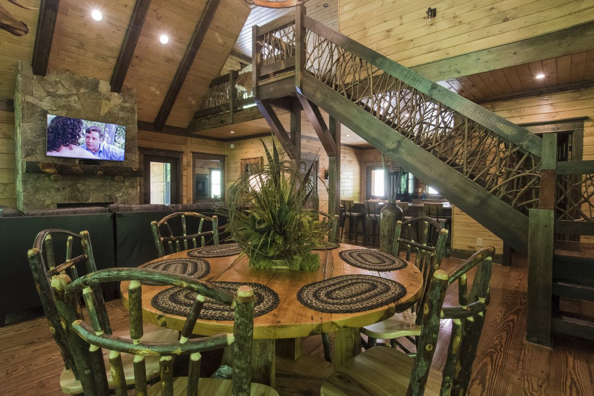 ... Luxury Cabin In A Beautiful Mountain Setting, We Have Exactly What You  Want At Cherokee Mountain Cabins! Book Now  Http://www.cherokeemountaincabins.com ...
