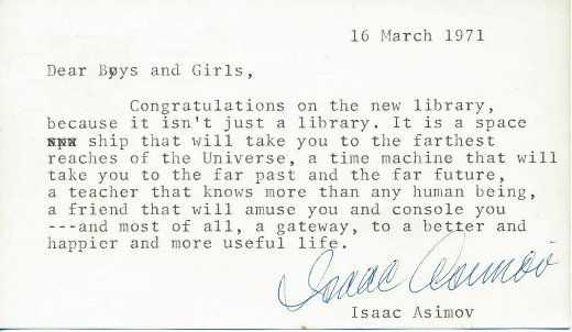 Jonny Geller On Twitter Happy Birthday Isaac Asimov His Famous