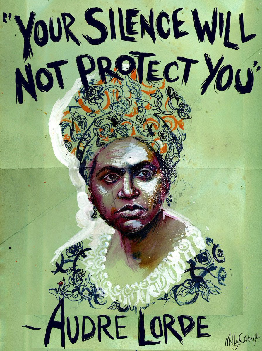 Image result for audre lorde quote on silence