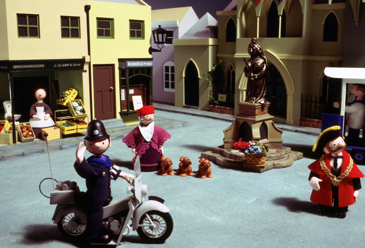 #OTD 1967: The first ever episode of Trumpton aired. 'Pugh, Pugh, Barney McGrew, Cuthbert, Dibble, Grubb'
