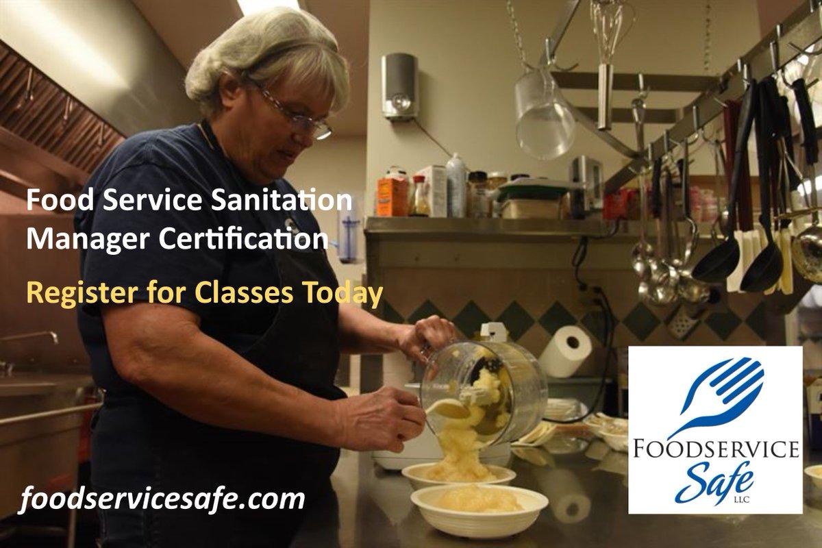 Foodservice Safe On Twitter Register For Food Service Sanitation