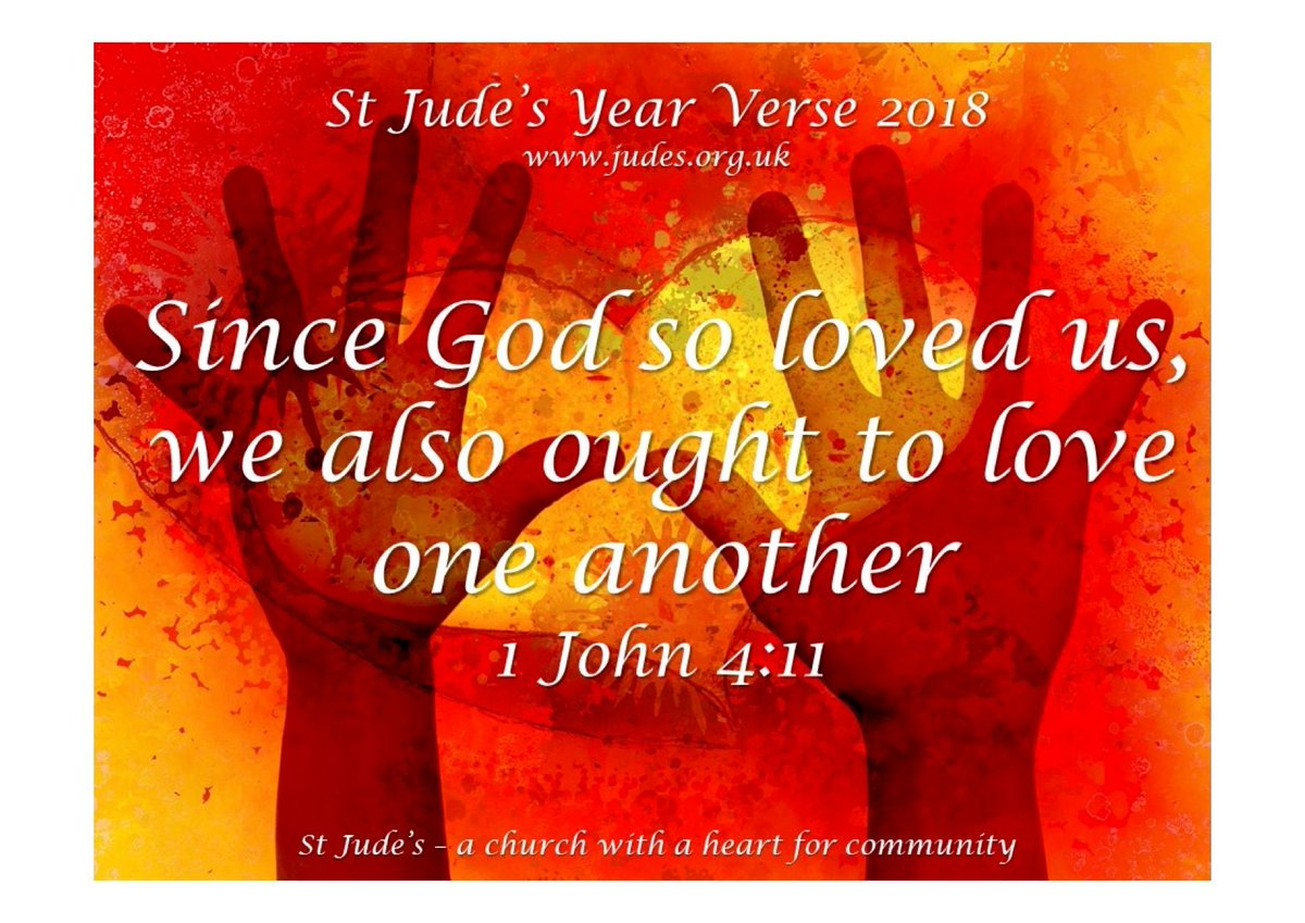 St judes church stjudesplymouth twitter take the time to think about each every word focusing on gods love how we can grow closer to him verseoftheyear love church god kristyandbryce Image collections