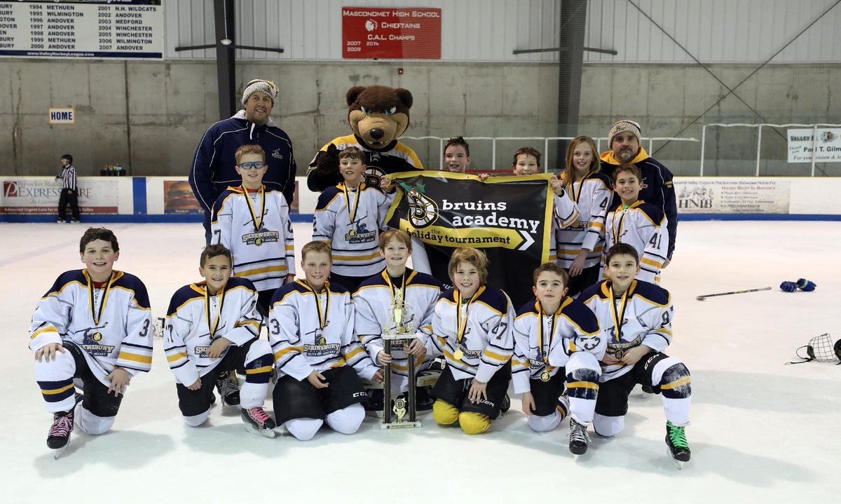 Boston Bruins On Twitter This Weekend Local Youth Hockey Teams