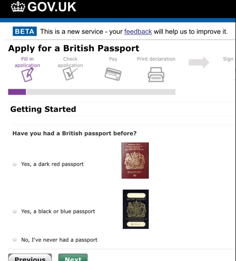 Faisal islam on twitter oh dear the official new government of the old passport as black or blue it is truly orwellian to suggest never been black its literally on the form picitteryh7menokid falaconquin