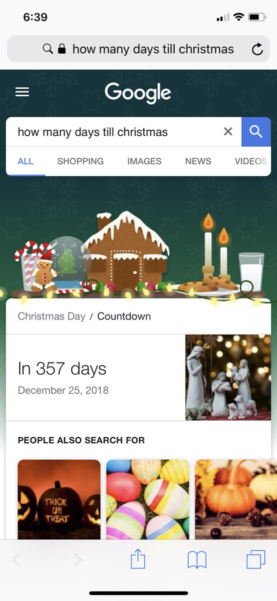 How Many Days Till Christmas Google.Brooo Christmas Is Right Around The Corner I Cant Wait