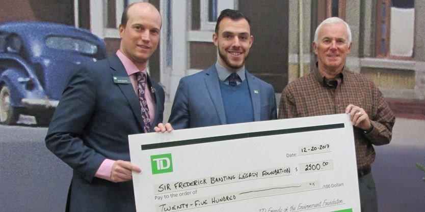 TD Canada Trust branch in Alliston banking on Banting Legacy