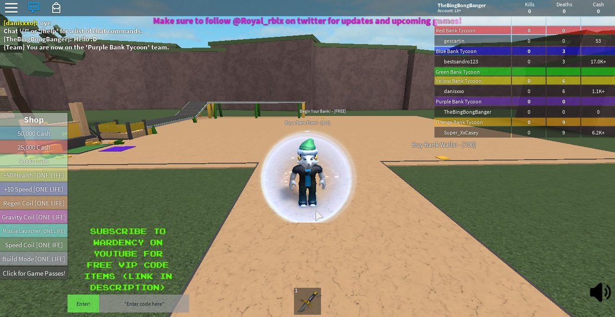 Thelittlerobloxnoob At Littlerbxnoob Twitter - roblox bank tycoon videos