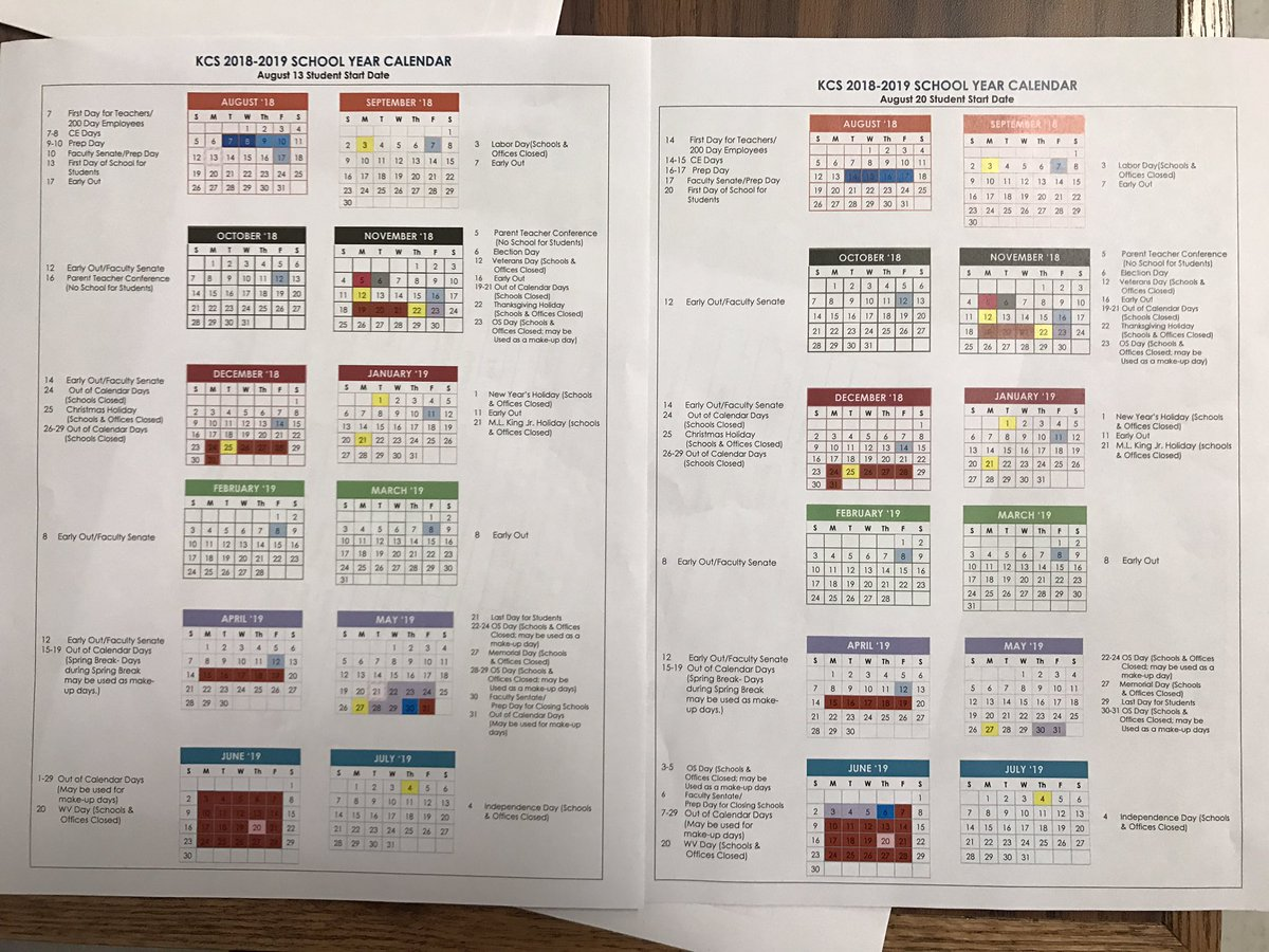 Kanawha County Schools Calendar 2019 Nathan Takitch on Twitter: