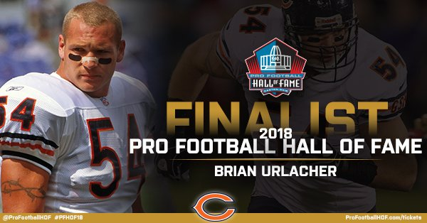Congratulations @BUrlacher54 on being named a #PFHOF18 Finalist!