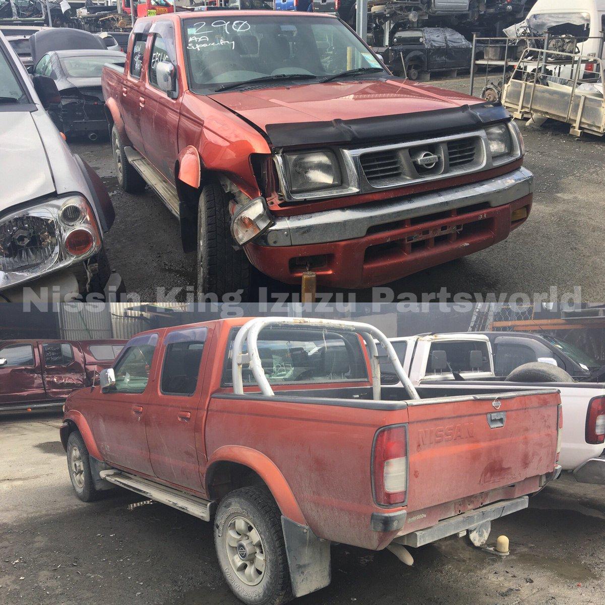 ... for #dismantling : - 2000 D22 #Nissan #Datsun AX-Limited (#Navara) -  3.2L Diesel (#QD32) - Manual Transmission - 4WD - RF damage, has good rear,  engine, ...
