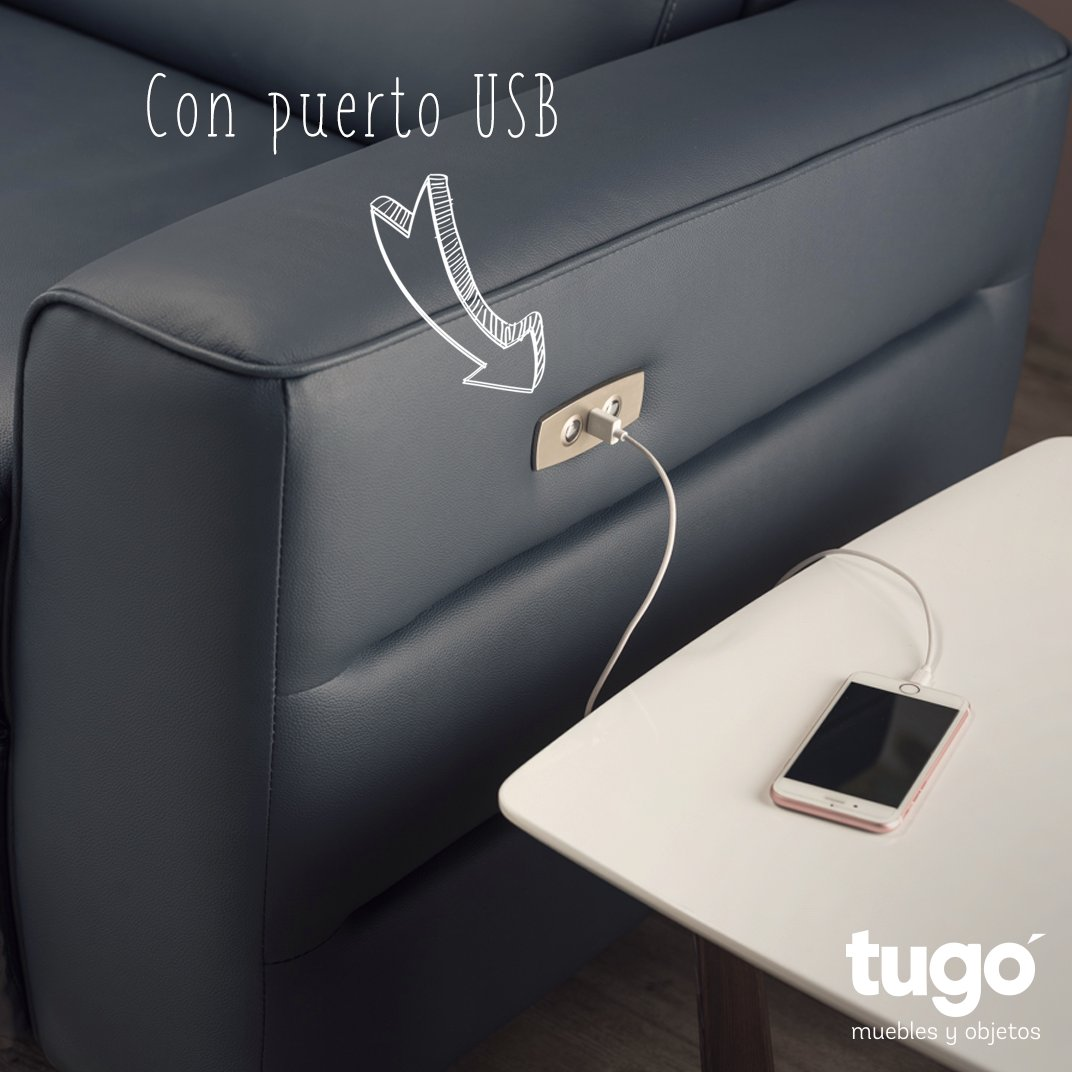 Muebles Tug On Twitter Sof Reclinable Y Con Puerto Usb  # Muebles Relax Barranquilla