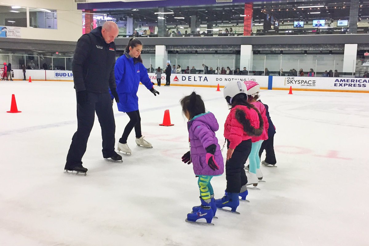 Toyota Sports Center On Twitter Start Off 2018 By Learning To Ice