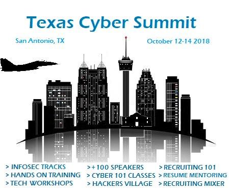 Texas Cyber Summit on Twitter: \