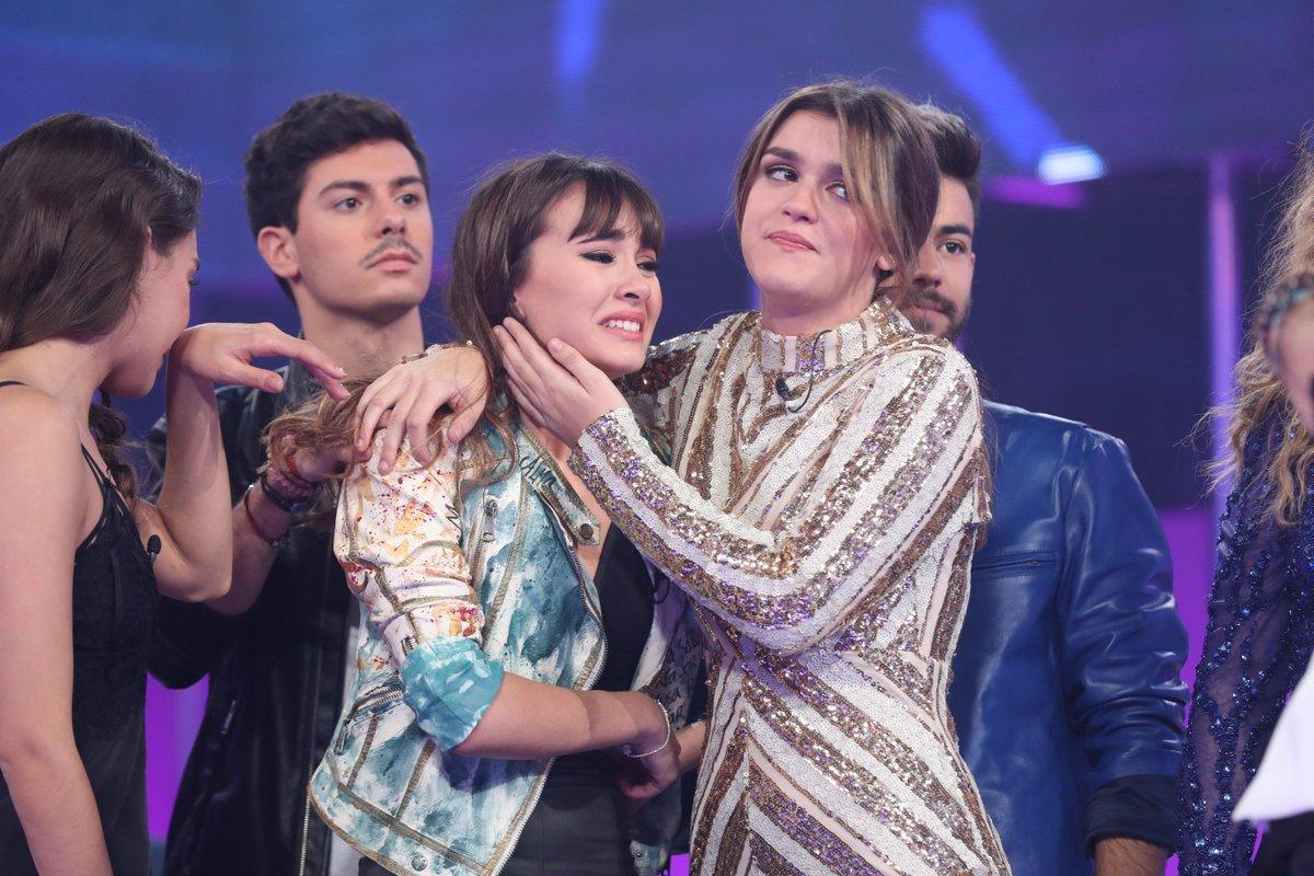 Aitana, Ana Guerra y Roi se derrumban co...