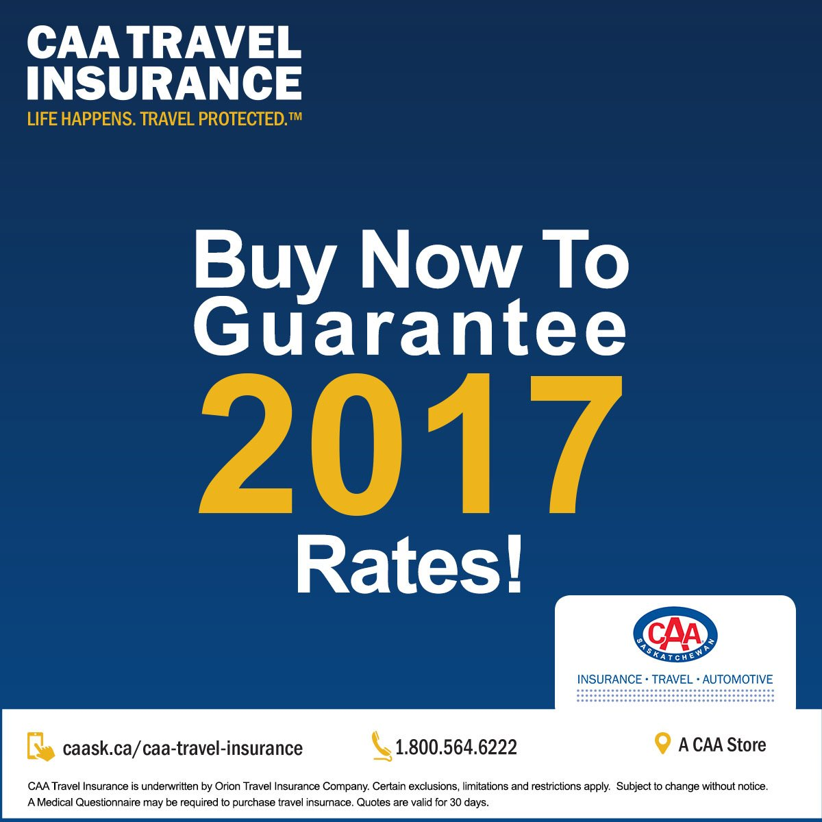 """Travel Life Insurance Quotes Caa Saskatchewan On Twitter """"are You Leaving The Snow Behind This"""