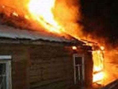 Пожар в кунгурском районе