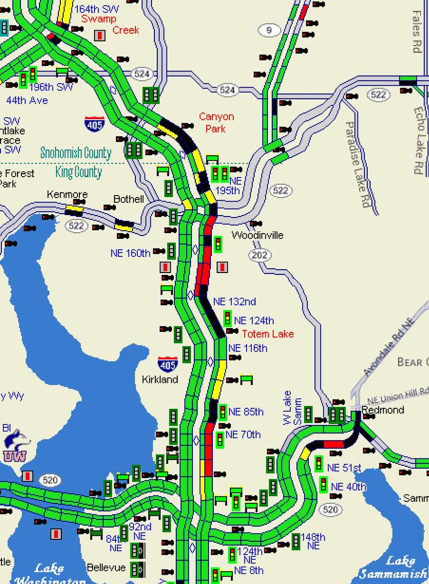 Wsdot Traffic On Twitter All Clear On Northbound I 405 At Sr 527
