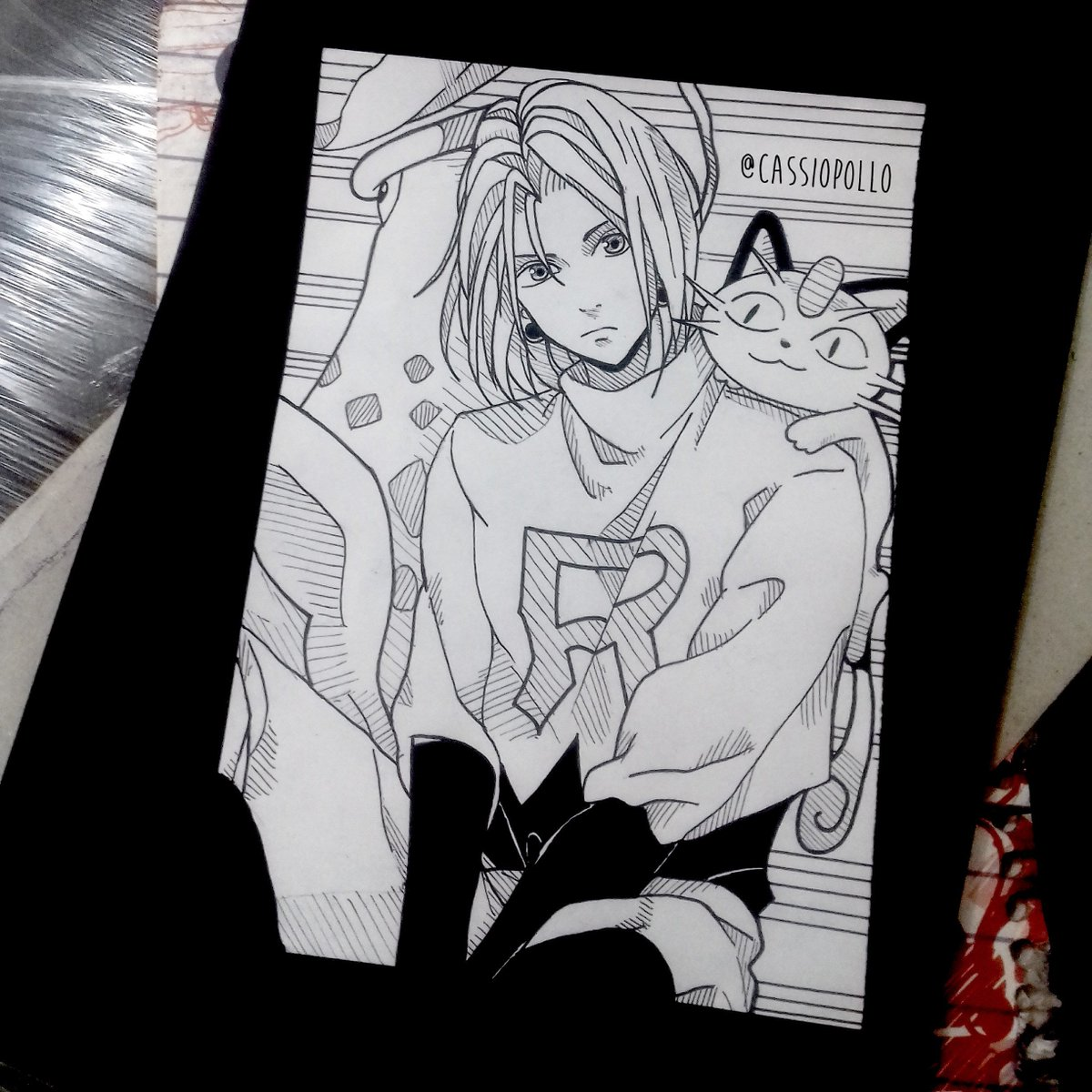 Cassio Pollo در توییتر Desenho Estilo Manga Finalizado Draw