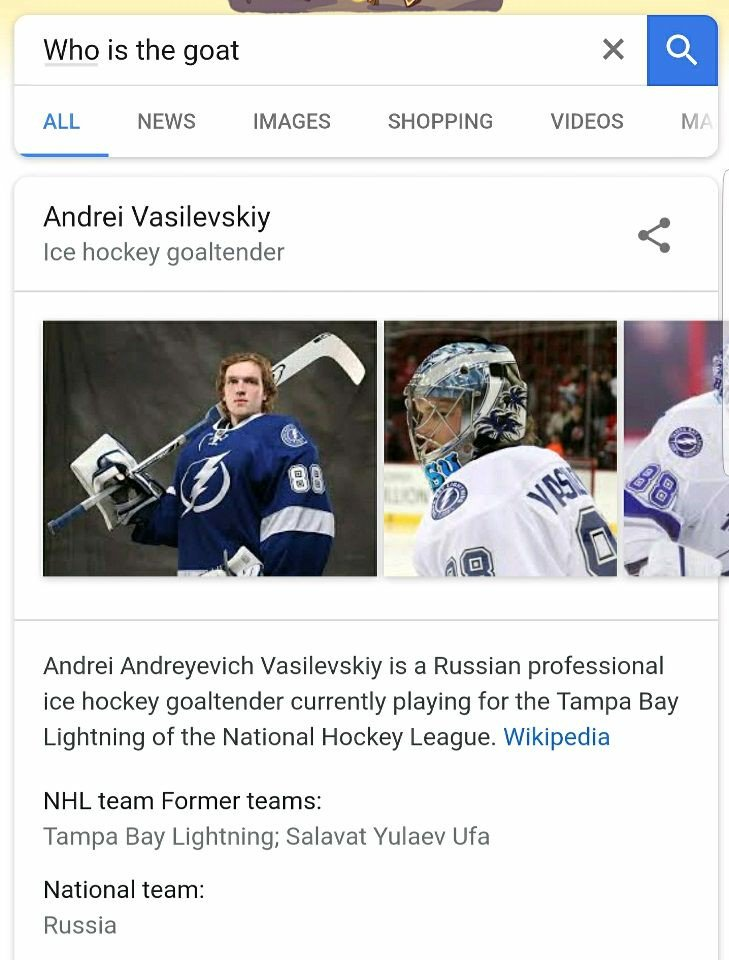 Nhl On Twitter There S Reason Why Vasilevskiy Is First In Wins And