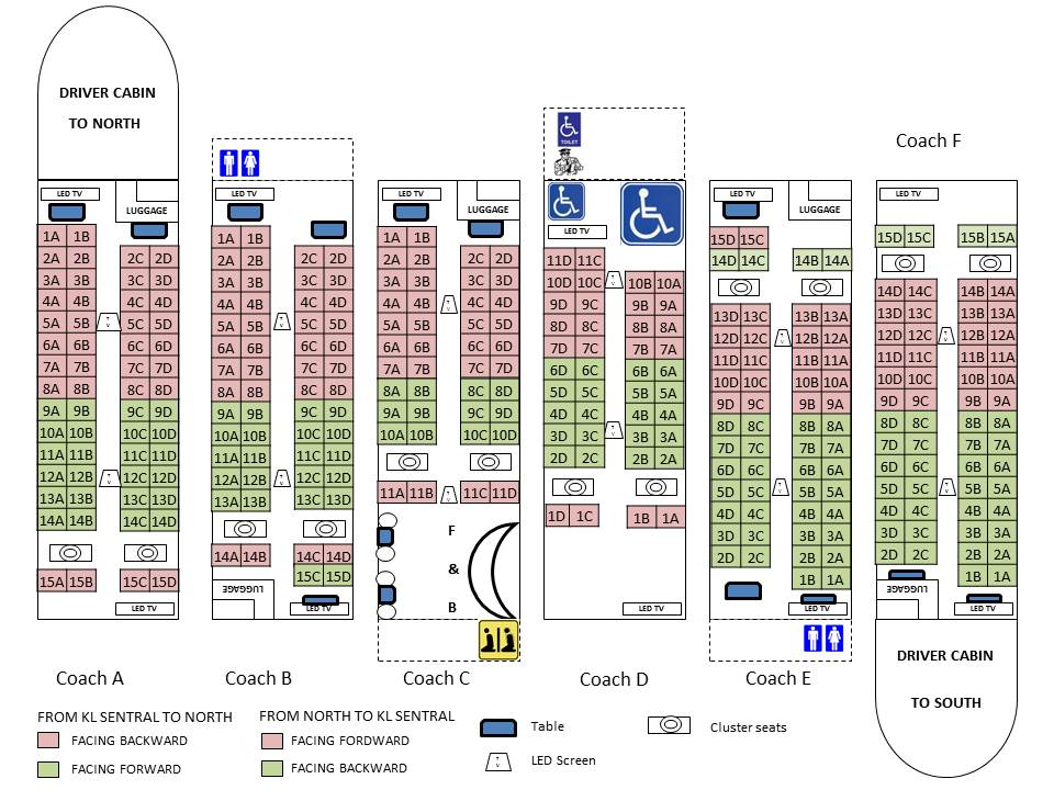 Ktmb 03 2267 1200 On Twitter Seats 14a 14b Are Facing 15a 15b Seats 8a 8b Are Not Facing 9a 9b Thank You For Your Tweet
