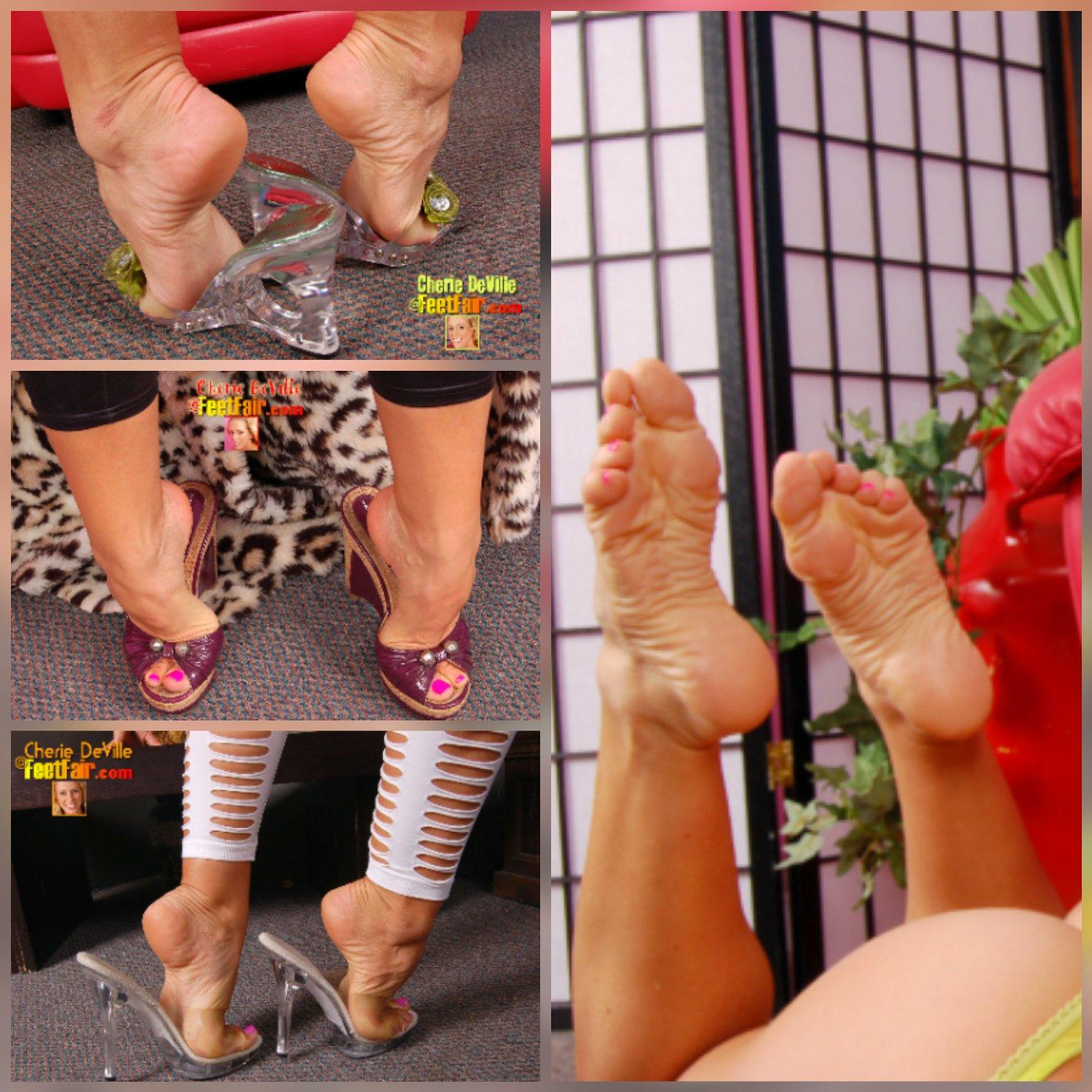 Feet cherie deville Cherie Deville