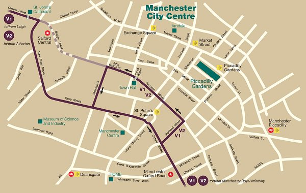 First Manchester on Twitter See maps of revised routes inout of