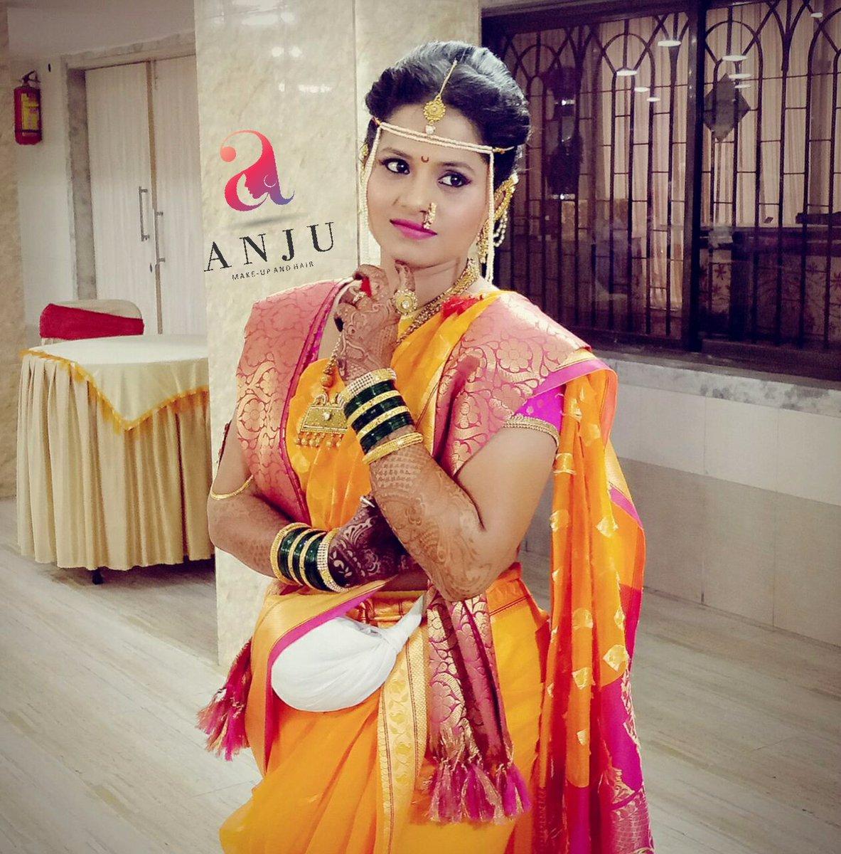 Wedding Hairstyle Maharashtrian: Maharashtrian Bridal Makeup Images