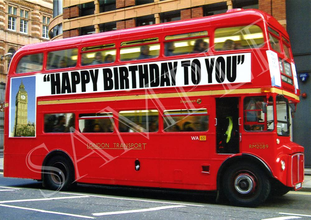 Простая открытка, картинки с днем рождения водителю автобуса
