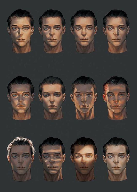 RT @Arting_2D: 얼굴의 빛/명암/그림자 #얼굴 #빛 #튜토리얼 #자료 #아트인지 #Face #Light #Shadow #Tutorial #Reference #ArtInG https://t.co/Taz4WLTXvS