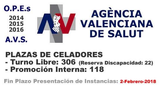 Celadores A.V.S. en plazo de presentación de instancias hasta el 2-Febrero-2018... DSnMRcgWkAAYfZy