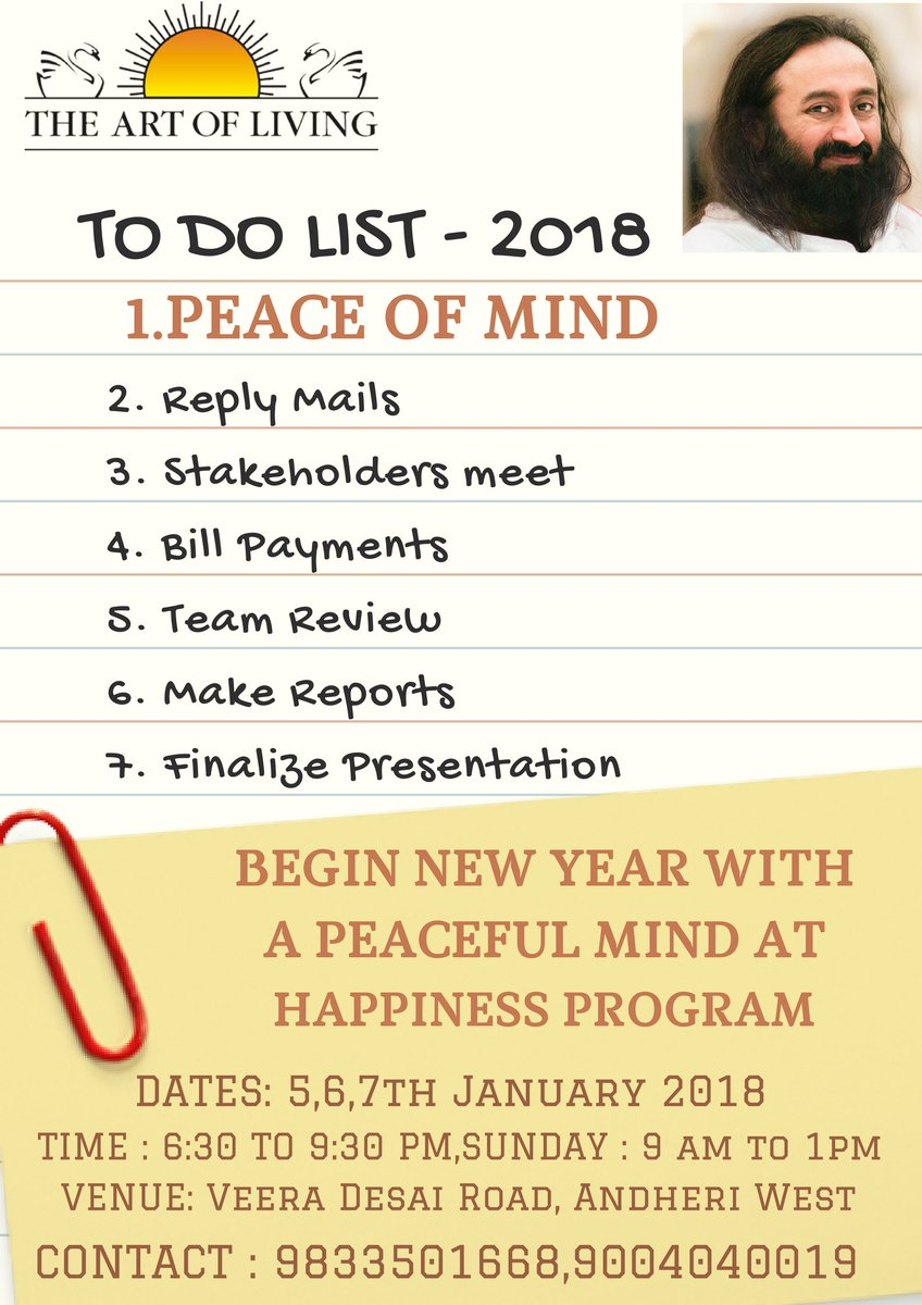 neetika on twitter welcome the new year with the happiness program