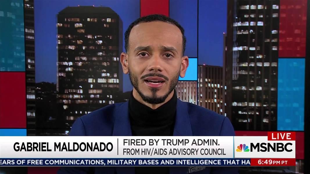 Trump admin abruptly ends AIDS council https://t.co/CQyXbpGIrS