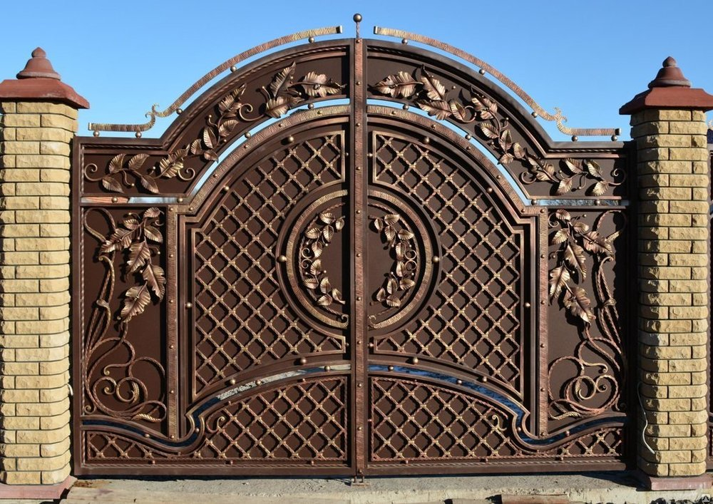Ковка ворот картинки