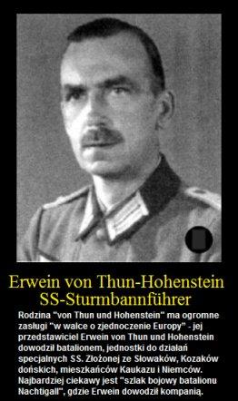 Znalezione obrazy dla zapytania ErweinSigmundvonThuni Hohenstein