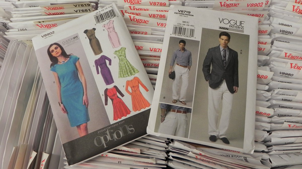 Lets sew on twitter did you know that all of our in stock vogue our in stock vogue and kwik sew patterns are 40 off everyday now thats a sale you must see for yourself sew many patternssew little time jeuxipadfo Choice Image