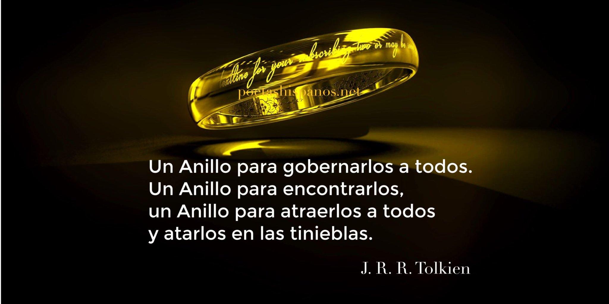 "Poetas Hispanos® on Twitter: ""Poemas y canciones del Señor de los Anillos... https://t.co/RzAQl1jXKk #PoetasHispanosMagazine… """