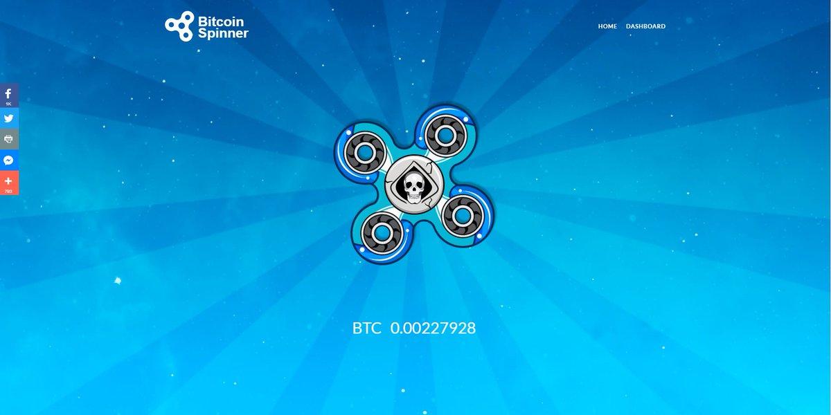 bitcoinspinner hashtag on Twitter