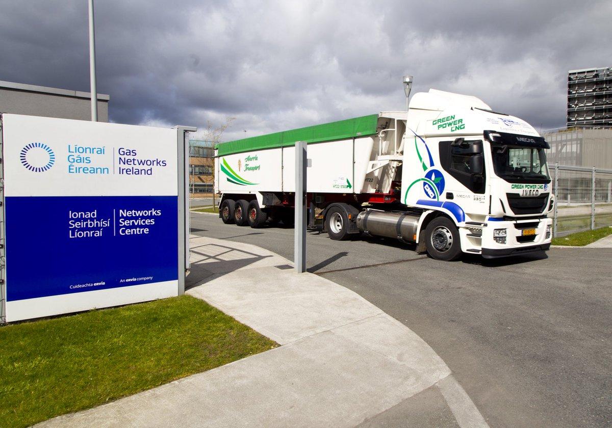 Gas Networks Ireland Truck